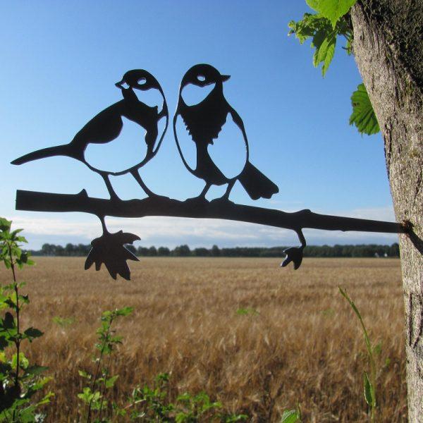 Paartje koolmezen vab Birdwise