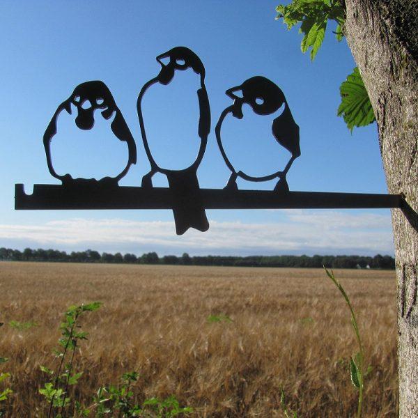 Huismus trio van Birdwise