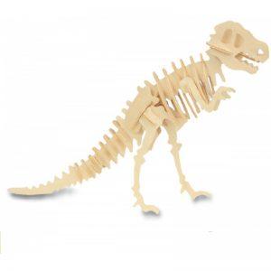 Houten bouwpakket T-Rex klein
