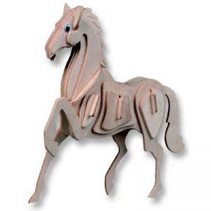 Houten bouwpakket paard