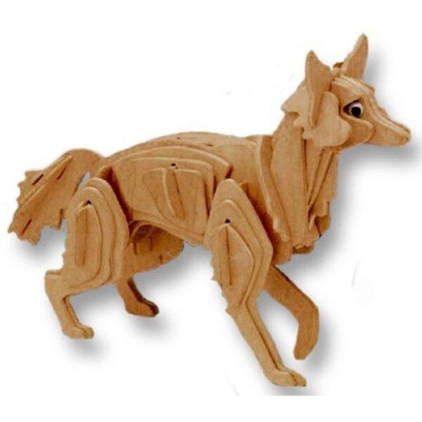 Bouwpakket hout vos
